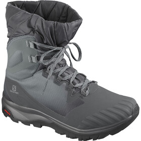 Salomon Vaya Powder TS CSWP Sko Damer, ebony/stormy weather/black